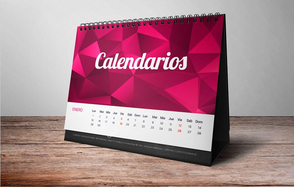 Impresión calendarios Madrid
