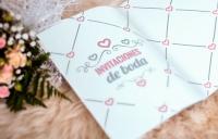 Impresión invitaciones de boda Leganés