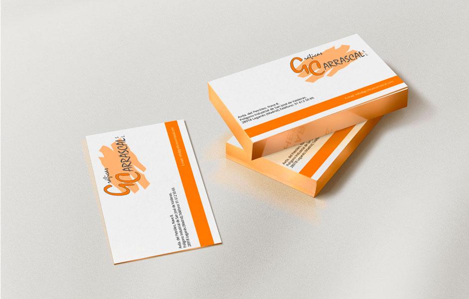 Impresión de tarjetas en Madrid