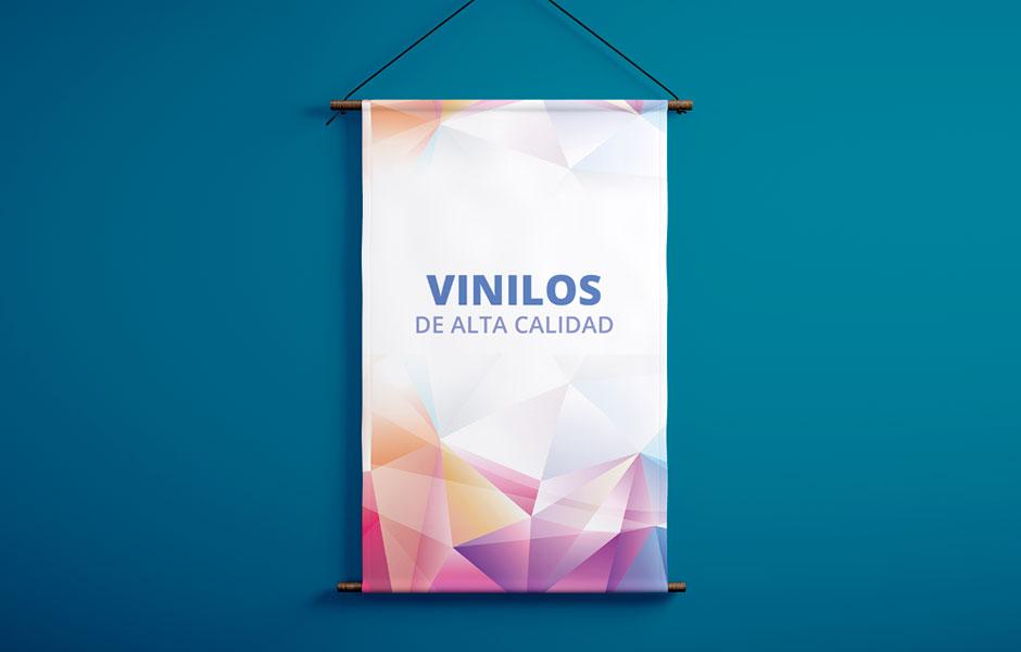 Impresión de vinilos y lonas en Leganés